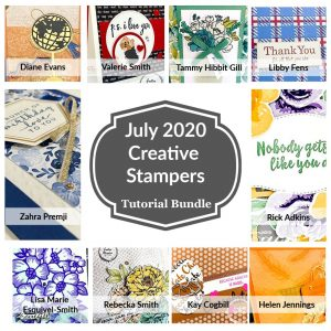 The July 2020 Creative Stampers Tutorial Bundle